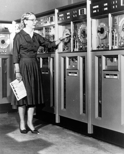 Rear Admiral Grace Hopper and the importance of analytics and data